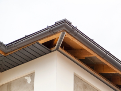 Soffit Installation On New Construction Home South Bend, Indiana